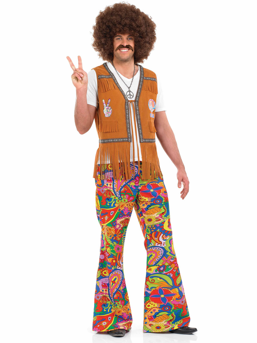 60u0027s mens psychedelic flair trousers  sc 1 th 259 & Castle Costumes